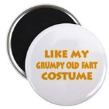 "Grumpy Old Fart Costume 2.25"" Magnet (100 pack)"