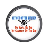 Out of the kitchen Wall Clock