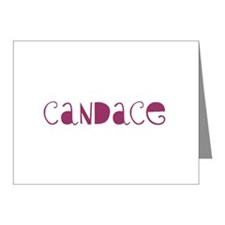 Candace Note Cards (Pk of 20)