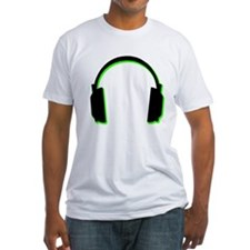 Green Shadow Headphones Shirt