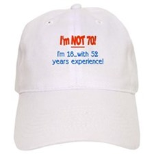 Cute 70 birthday Baseball Cap