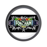 fordham (Black) Wall Clock