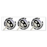 3 for 1 Bandit Bumper Sticker