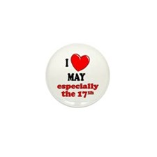 May 17th Mini Button (100 pack)