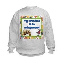 "Kid's ""My Grandma is an entrepreneur"" Sweatshirt"