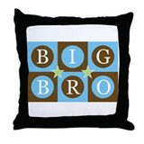 Big Bro Tic-Tac-Toe Throw Pillow