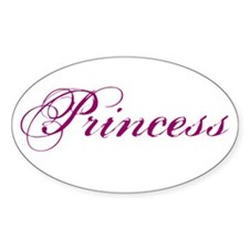 26. Princess Oval Decal