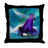 """Wizard's Hat"" Throw Pillow"