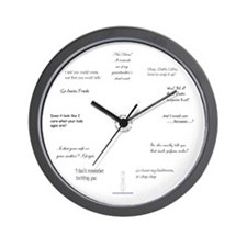 Sarcastic Wall Clock