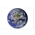 Living With Nature Quote Postcards (Package of 8)