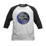Living With Nature Quote Kids Baseball Jersey