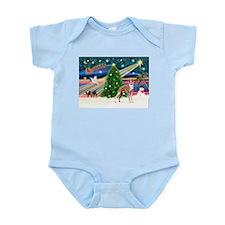 XmasMagic / Whippet (#13) Infant Bodysuit