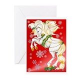 Christmas Unicorn Greeting Cards (Pk of 20)