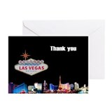 Las Vegas Thank you Cards (Pk of 10)