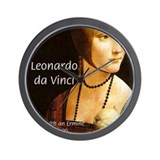 Leonardo da Vinci Art Wall Clock