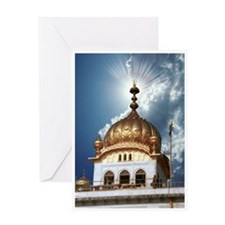 Akal Takhat Greeting Card