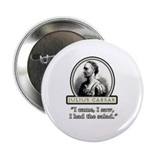 "Funny Julius Caesar Salad 2.25"" Button (10 pack)"