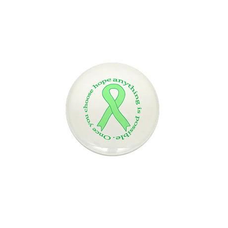Lt. Green Hope Mini Button (100 pack)