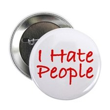 I Hate People Button