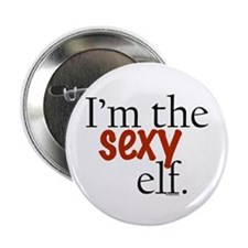"Sexy Elf 2.25"" Button (10 pack)"