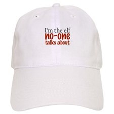 No Talk Elf Baseball Cap