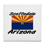 Scottsdale Arizona Tile Coaster