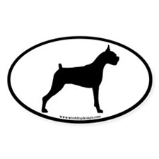 Boxer Dog Decal