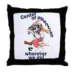 NH Center Of Attention Great Dane Throw Pillow