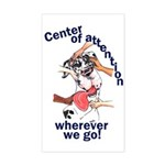 NH Center Of Attention Great Dane Sticker (Rect)