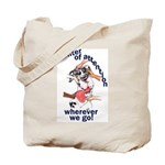 NH Center Of Attention Great Dane Tote Bag