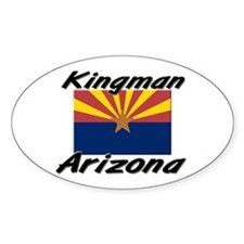 Kingman Arizona Oval Decal
