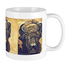Buffalo Eating Coffee Mug