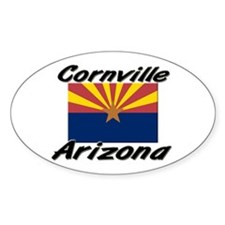 Cornville Arizona Oval Decal