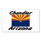 Chandler Arizona Rectangle Decal