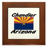 Chandler Arizona Framed Tile