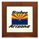 Bisbee Arizona Framed Tile
