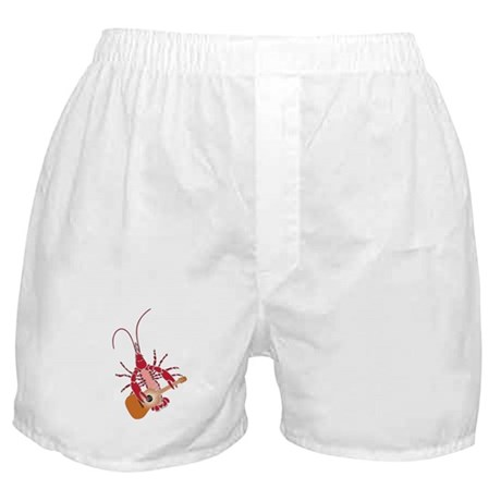 Crayfish Guitarist Boxer Shorts