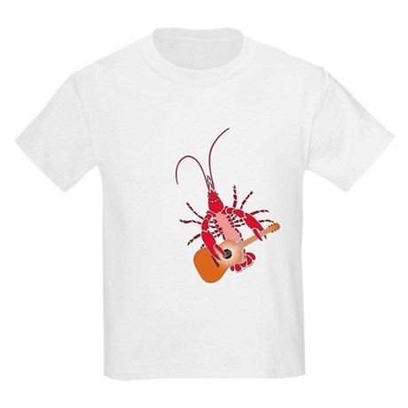 Crayfish Guitarist Kids Light T-Shirt