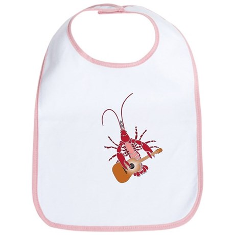 Crayfish Guitarist Bib