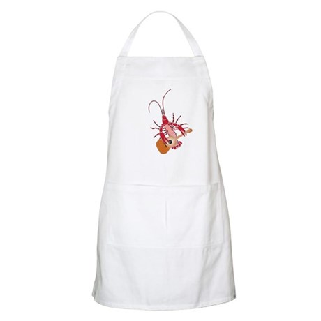 Crayfish Guitarist BBQ Apron