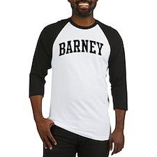 BARNEY (curve) Baseball Jersey