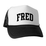 FRED (curve) Trucker Hat