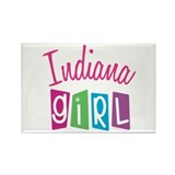 INDIANA GIRL! Rectangle Magnet (10 pack)