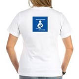 Breastfeeding Anytime Anywhere Women's V-Neck Tee