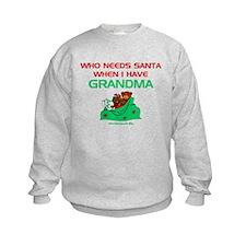Santa Grandma Sweatshirt