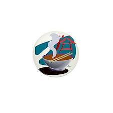 Miso Soup Mini Button (10 pack)