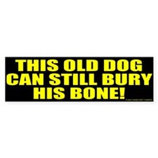 This Old Dog Bumper Bumper Sticker