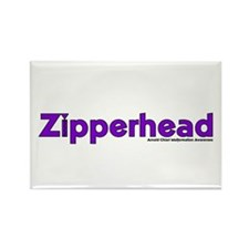 Zipperhead Rectangle Magnet (100 pack)