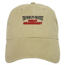 """The World's Greatest Great Granddaddy"" Baseball Cap"
