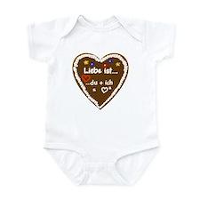 Liebe ist... 6 Infant Bodysuit